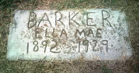 BARKER, ELLA MAE - Jackson County, Arkansas | ELLA MAE BARKER - Arkansas Gravestone Photos