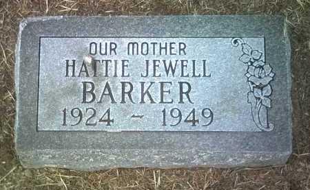 BARKER, HATTIE JEWELL - Jackson County, Arkansas | HATTIE JEWELL BARKER - Arkansas Gravestone Photos