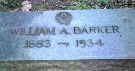 BARKER, WILLIAM A - Jackson County, Arkansas | WILLIAM A BARKER - Arkansas Gravestone Photos