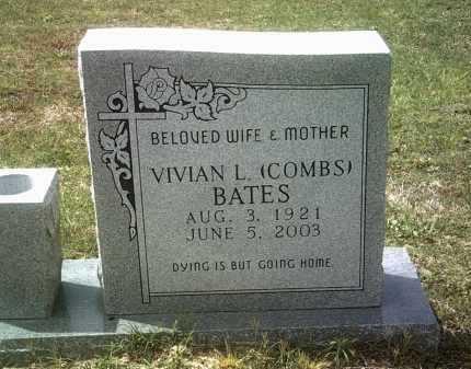 COMBS BATES, VIVIAN L - Jackson County, Arkansas | VIVIAN L COMBS BATES - Arkansas Gravestone Photos
