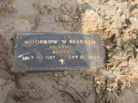 BEARDEN (VETERAN KOR), WOODROW W - Jackson County, Arkansas | WOODROW W BEARDEN (VETERAN KOR) - Arkansas Gravestone Photos