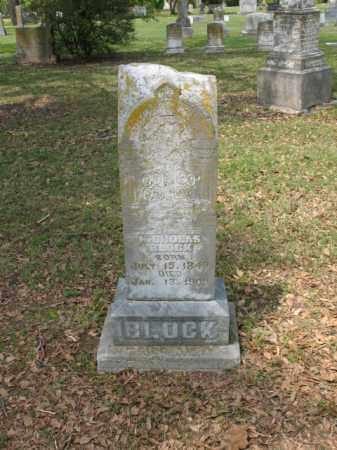 BLOCK, NICHOLAS - Jackson County, Arkansas   NICHOLAS BLOCK - Arkansas Gravestone Photos