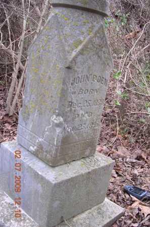 BOEN, JOHN - Jackson County, Arkansas | JOHN BOEN - Arkansas Gravestone Photos