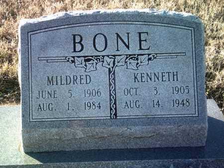 BONE, KENNETH - Jackson County, Arkansas | KENNETH BONE - Arkansas Gravestone Photos
