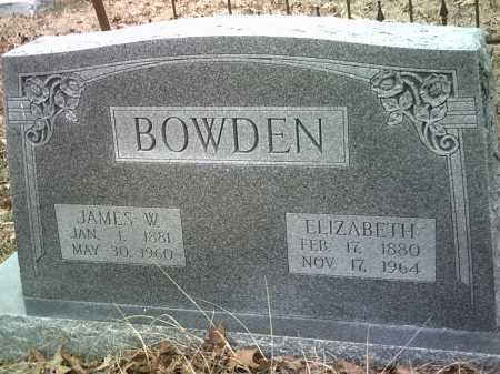 BOWDEN, JAMES W. - Jackson County, Arkansas | JAMES W. BOWDEN - Arkansas Gravestone Photos