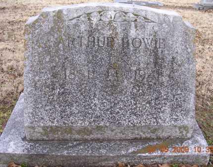 BOWIE, ARTHUR - Jackson County, Arkansas | ARTHUR BOWIE - Arkansas Gravestone Photos