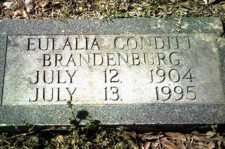 BRANDENBURG, EULALIA - Jackson County, Arkansas | EULALIA BRANDENBURG - Arkansas Gravestone Photos