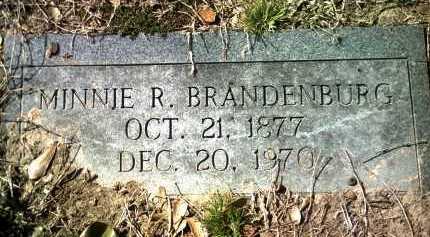 BRANDENBURG, MINNIE R - Jackson County, Arkansas | MINNIE R BRANDENBURG - Arkansas Gravestone Photos