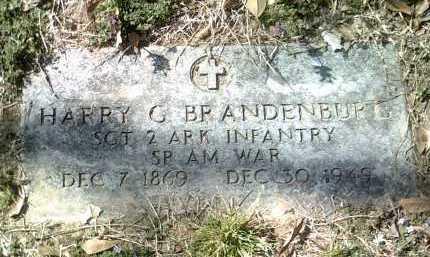 BRANDENBURG (VETERAN SAW), HARRY G - Jackson County, Arkansas   HARRY G BRANDENBURG (VETERAN SAW) - Arkansas Gravestone Photos