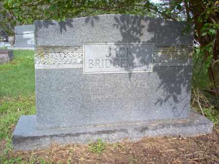 BRIDGEMAN, JACK - Jackson County, Arkansas   JACK BRIDGEMAN - Arkansas Gravestone Photos