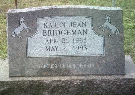 BRIDGEMAN, KAREN JEAN - Jackson County, Arkansas | KAREN JEAN BRIDGEMAN - Arkansas Gravestone Photos