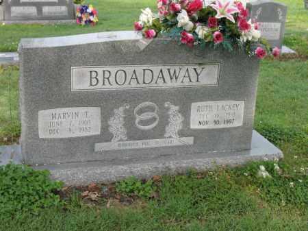BROADAWAY, MARVIN T - Jackson County, Arkansas | MARVIN T BROADAWAY - Arkansas Gravestone Photos