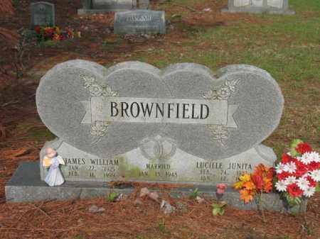 BROWNFIELD, LUCILLE JUNITA - Jackson County, Arkansas | LUCILLE JUNITA BROWNFIELD - Arkansas Gravestone Photos
