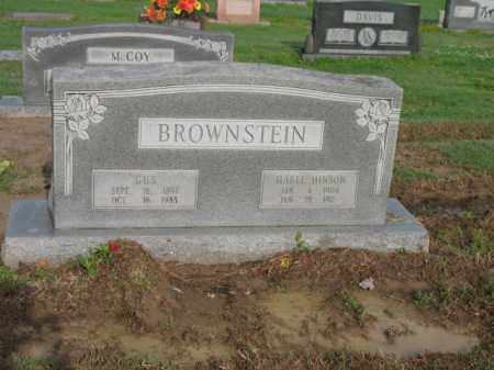 HINSON BROWNSTEIN, MABEL - Jackson County, Arkansas | MABEL HINSON BROWNSTEIN - Arkansas Gravestone Photos