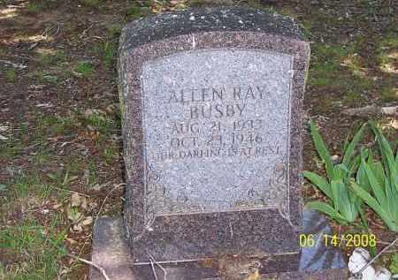 BUSBY, ALLEN RAY - Jackson County, Arkansas | ALLEN RAY BUSBY - Arkansas Gravestone Photos