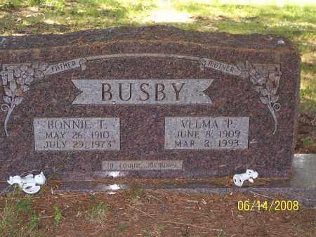 BUSBY, BONNIE T - Jackson County, Arkansas | BONNIE T BUSBY - Arkansas Gravestone Photos