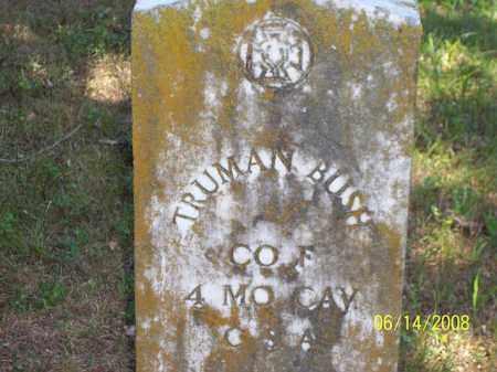 BUSH  (VETERAN CSA), TRUMAN - Jackson County, Arkansas | TRUMAN BUSH  (VETERAN CSA) - Arkansas Gravestone Photos