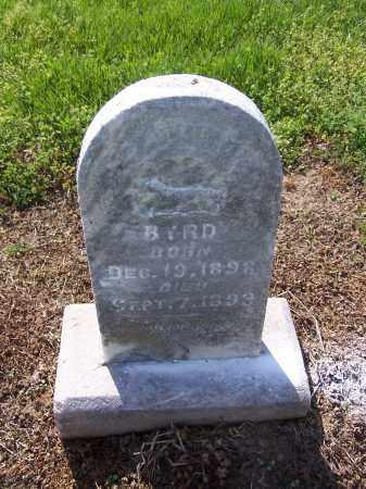 BYRD, ALONZO - Jackson County, Arkansas   ALONZO BYRD - Arkansas Gravestone Photos