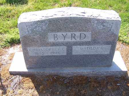 BYRD, MATILDA C - Jackson County, Arkansas | MATILDA C BYRD - Arkansas Gravestone Photos