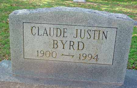 BYRD, CLAUDE JUSTIN - Jackson County, Arkansas | CLAUDE JUSTIN BYRD - Arkansas Gravestone Photos