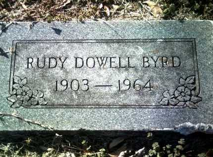 BYRD, RUDY DOWELL - Jackson County, Arkansas | RUDY DOWELL BYRD - Arkansas Gravestone Photos