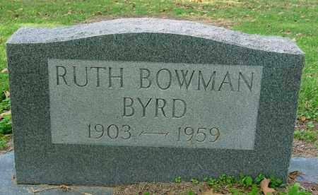 BOWMAN BYRD, RUTH - Jackson County, Arkansas | RUTH BOWMAN BYRD - Arkansas Gravestone Photos