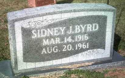 BYRD, SIDNEY J - Jackson County, Arkansas   SIDNEY J BYRD - Arkansas Gravestone Photos