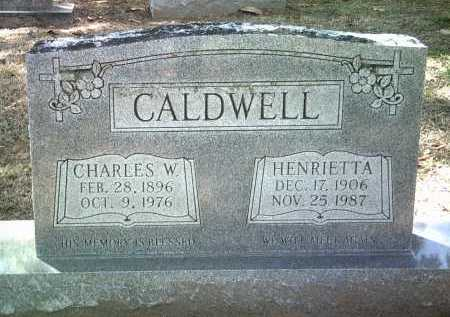 CALDWELL, HENRIETTA - Jackson County, Arkansas   HENRIETTA CALDWELL - Arkansas Gravestone Photos