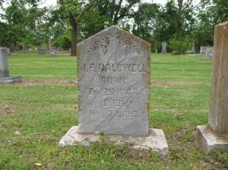 CALDWELL, JOHN FRANKLIN - Jackson County, Arkansas | JOHN FRANKLIN CALDWELL - Arkansas Gravestone Photos