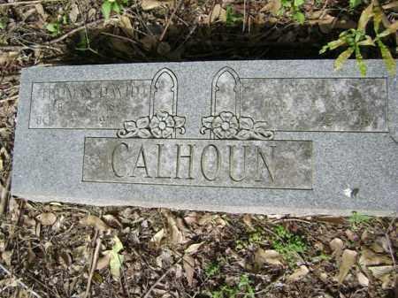 CALHOUN, THOMAS DAVID - Jackson County, Arkansas | THOMAS DAVID CALHOUN - Arkansas Gravestone Photos