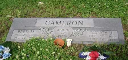 CAMERON, FRED M - Jackson County, Arkansas | FRED M CAMERON - Arkansas Gravestone Photos