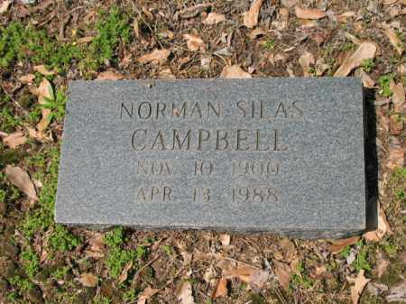 CAMPBELL, NORMAN SILAS - Jackson County, Arkansas | NORMAN SILAS CAMPBELL - Arkansas Gravestone Photos