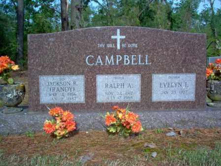 "CAMPBELL, JACKSON R  ""RANDY"" - Jackson County, Arkansas | JACKSON R  ""RANDY"" CAMPBELL - Arkansas Gravestone Photos"
