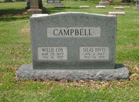 CAMPBELL, SILAS DAVIS - Jackson County, Arkansas | SILAS DAVIS CAMPBELL - Arkansas Gravestone Photos