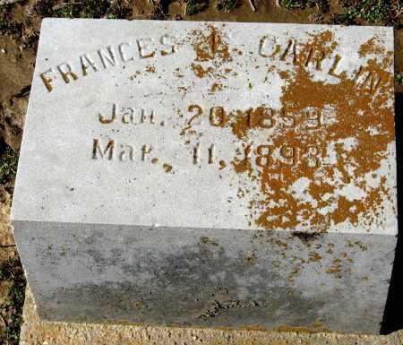 CARLIN, FRANCES E - Jackson County, Arkansas | FRANCES E CARLIN - Arkansas Gravestone Photos