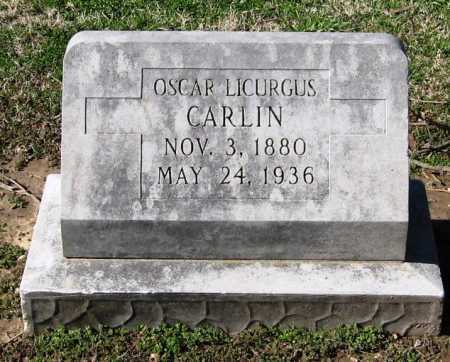 CARLIN, OSCAR LICURGUS - Jackson County, Arkansas | OSCAR LICURGUS CARLIN - Arkansas Gravestone Photos