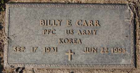 CARR (VETERAN KOR), BILLY E - Jackson County, Arkansas   BILLY E CARR (VETERAN KOR) - Arkansas Gravestone Photos