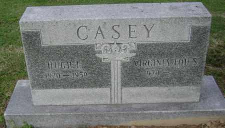 CASEY, HUGH E - Jackson County, Arkansas | HUGH E CASEY - Arkansas Gravestone Photos