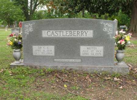 CASTLEBERRY, DR C C - Jackson County, Arkansas   DR C C CASTLEBERRY - Arkansas Gravestone Photos