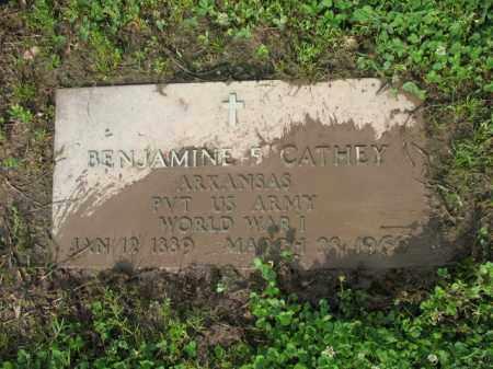 CATHEY (VETERAN WWI), BENJAMIN FRANK - Jackson County, Arkansas | BENJAMIN FRANK CATHEY (VETERAN WWI) - Arkansas Gravestone Photos