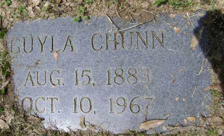 CHUNN, GUYLA - Jackson County, Arkansas | GUYLA CHUNN - Arkansas Gravestone Photos