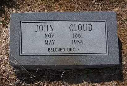 CLOUD, JOHN - Jackson County, Arkansas   JOHN CLOUD - Arkansas Gravestone Photos