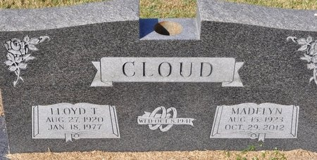 CLOUD, MADELYN - Jackson County, Arkansas | MADELYN CLOUD - Arkansas Gravestone Photos