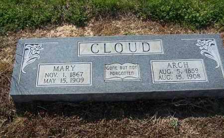 CLOUD, ARCH - Jackson County, Arkansas | ARCH CLOUD - Arkansas Gravestone Photos