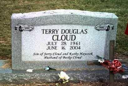 CLOUD, TERRY DOUGLAS - Jackson County, Arkansas | TERRY DOUGLAS CLOUD - Arkansas Gravestone Photos