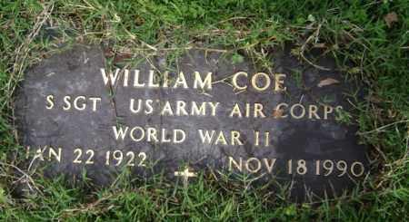 COE (VETERAN WWII), WILLIAM - Jackson County, Arkansas | WILLIAM COE (VETERAN WWII) - Arkansas Gravestone Photos