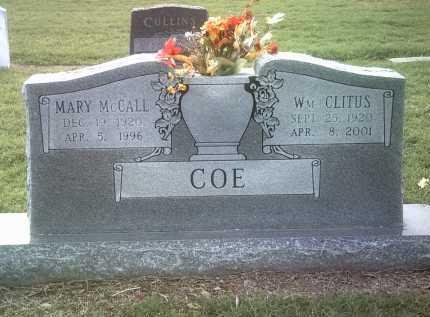 COE, WILLIAM CLITUS - Jackson County, Arkansas   WILLIAM CLITUS COE - Arkansas Gravestone Photos