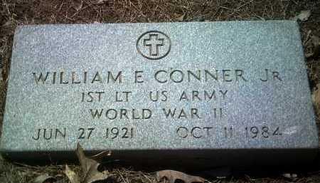 CONNER, JR (VETERAN WWII), WILLIAM E - Jackson County, Arkansas | WILLIAM E CONNER, JR (VETERAN WWII) - Arkansas Gravestone Photos