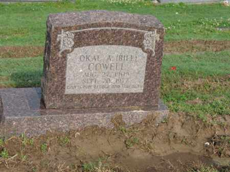 "COWELL, OKAL A ""BILL"" - Jackson County, Arkansas 
