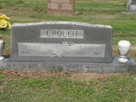 CROUCH, CHARLIE - Jackson County, Arkansas | CHARLIE CROUCH - Arkansas Gravestone Photos